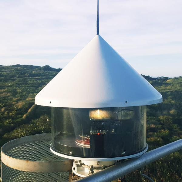 ODSL200 Sector Light with LightGuard Remote Monitoring for Howell's Point, New Zealand
