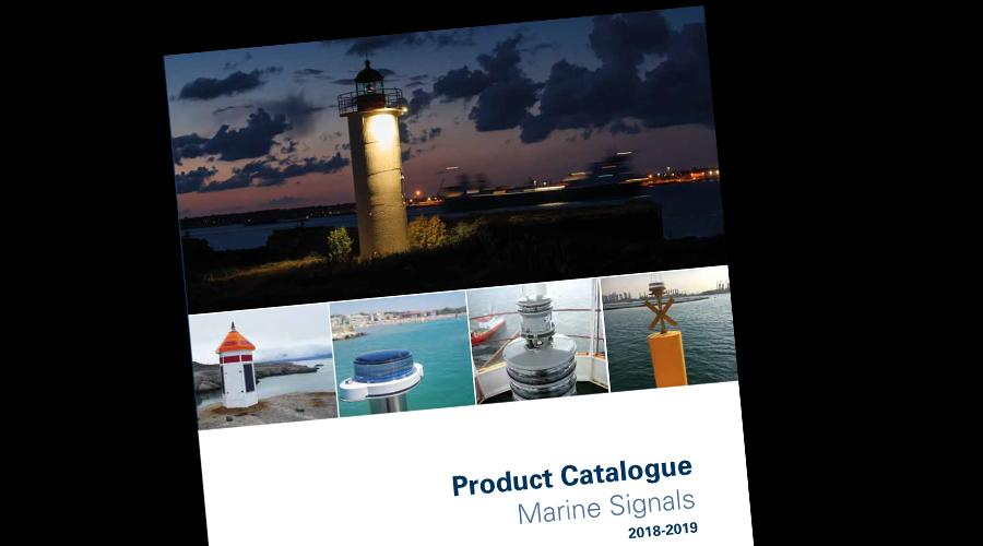 Product Catalogue Marine Signals 2018-2019
